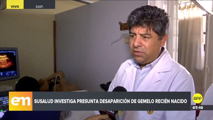 Hospital Cayetano Heredia insistió en que madre dio a luz a un solo bebé