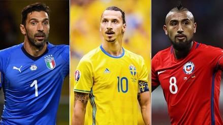 Con Ibrahimovic: las estrellas que no estarán en el Mundial Rusia 2018