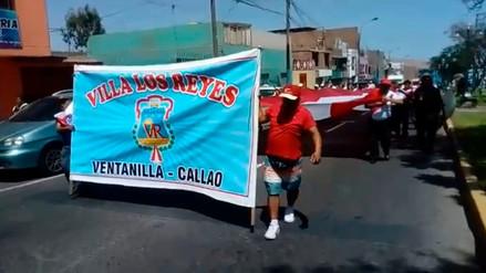 Vecinos de Ventanilla marcharon en contra la corrupción en el Callao