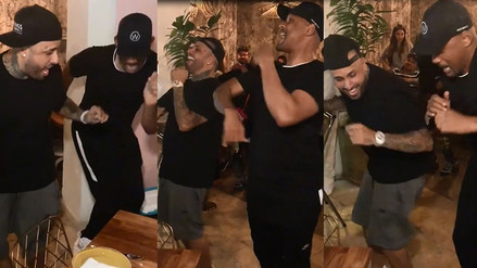 Will Smith y Nicky Jam causan furor bailando