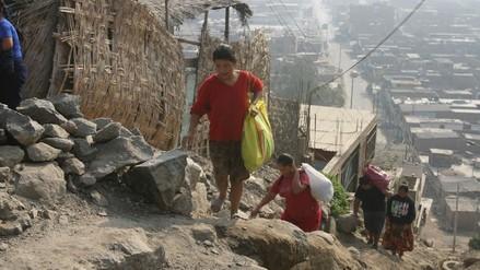 INEI: 375 mil peruanos pasaron a la pobreza en el 2017