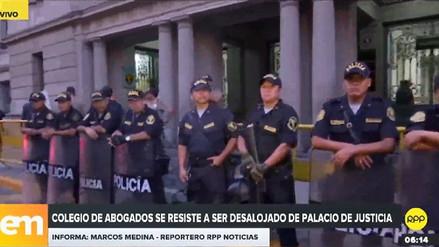 Colegio de Abogados se resiste a ser desalojado del Palacio de Justicia