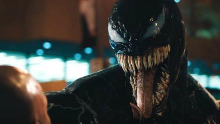 """""""Venom"""": Revelan imágenes inéditas en el que se aprecia al imponente simbionte  de Tom Hardy"""