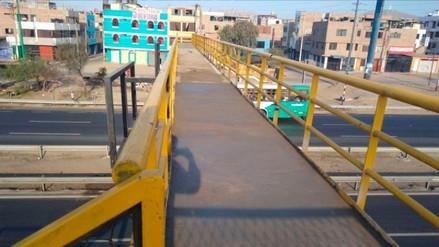 Rutas de Lima culminó con reemplazo de puente dañado por choque en la Panamericana Sur