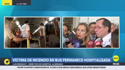 EsSalud: Eyvi Liset Agreda debe ser sometida a más de 10 cirugías