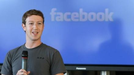 Facebook gana en el primer trimestre US$ 4,988 millones, un 63 % más