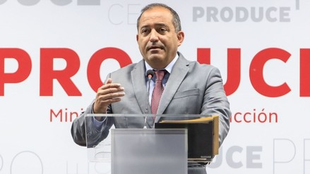 César Villanueva aceptó la renuncia del ministro de la Producción
