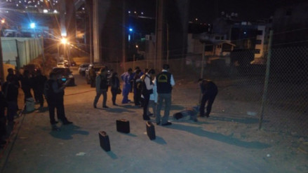 Un joven motociclista se suicida lanzándose del puente Chilina en Arequipa