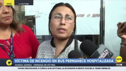 """Hermana de Eyvi Liset Agreda tras captura del agresor: """"No lo dejen suelto"""""""