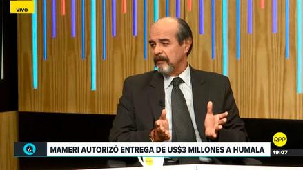 Mulder dijo que si el TC libera a Humala y Heredia será por razones políticas