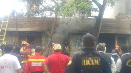 Incendio arrasó una vivienda en Trujillo