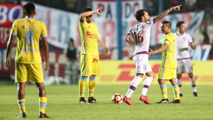 Real Garcilaso fue goleado por Nacional y se complicó en la Libertadores