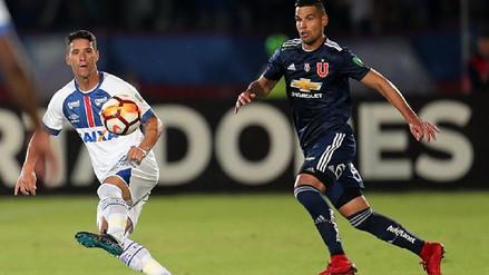 Cruzeiro humilla 7-0 a la 'U' de Chile y mantiene vivo su sueño en la Libertadores