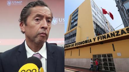 MEF redujo su proyección de crecimiento económico a 3.6% para el 2018