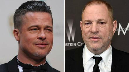 Brad Pitt llevará al cine el escándalo de Harvey Weinstein