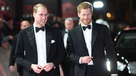 El príncipe Harry escoge a su hermano William como padrino