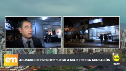 Carlos Hualpa negó haber atacado a Eyvi Liset Agreda, según su abogado