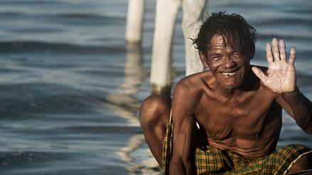 Comunidad asiática es capaz de aguantar la respiración por más de 10 minutos bajo el agua