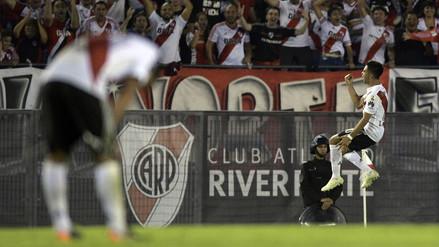 Mira los goles de la victoria de River Plate sobre Emelec por Libertadores