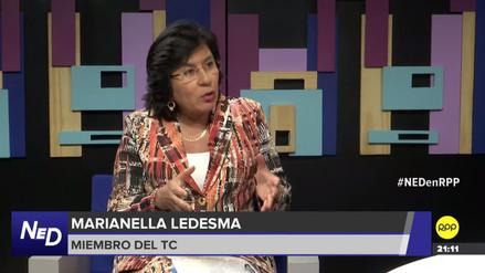 Magistrada del TC: Fallo a favor de Humala y Heredia complica figura de prisión preventiva