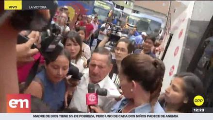 Llegaron a Lima los padres de Eyvi Liset Agreda