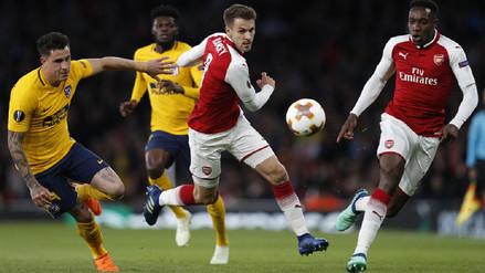 Atlético de Madrid apeló a su garra para rescatar un empate 1-1 ante Arsenal