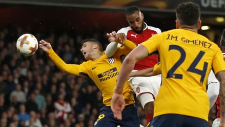 Mira los goles del empate 1-1 entre Arsenal y Atlético de Madrid