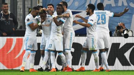 Mira los goles de la victoria por 2-0 del Olympique del Marsella ante Salzburgo