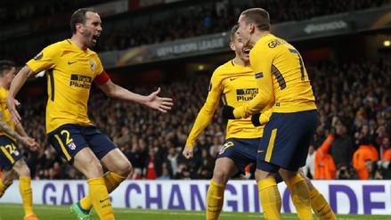 La hazaña del Atlético de Madrid ante Arsenal en 10 imágenes
