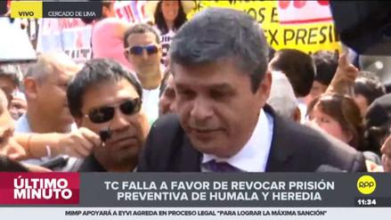 """Gastañadui: """"Gracias al Tribunal Constitucional, Ollanta y Nadine han obtenido justicia"""""""