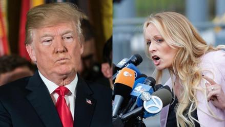 Trump admitió que su abogado personal lo representó en el caso Stormy Daniels