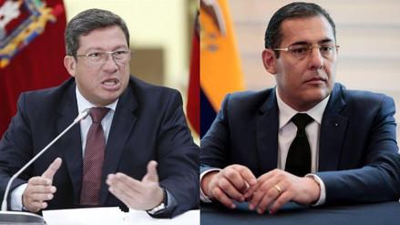Ecuador: renunciaron los ministros del Interior y Defensa por crisis en la frontera