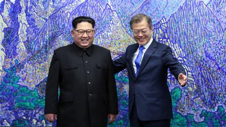 Kim y Moon hablan de desnuclearización y ultiman una declaración conjunta