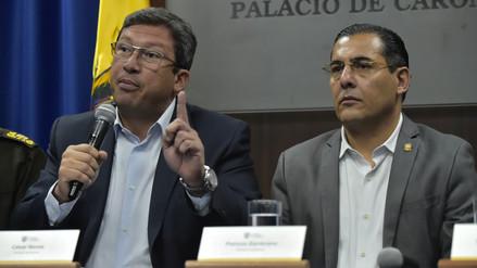 Ecuador designó nuevos ministros por crisis en la frontera con Colombia