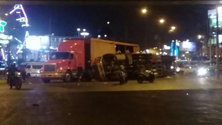 Punta Hermosa: triple choque dejó 8 heridos en el kilómetro 45 de la Panamericana Sur