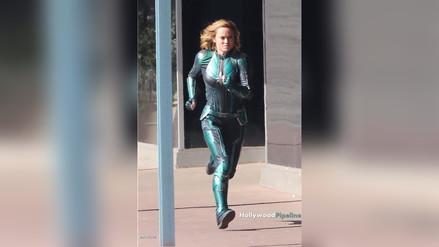 Brie Larson grabó