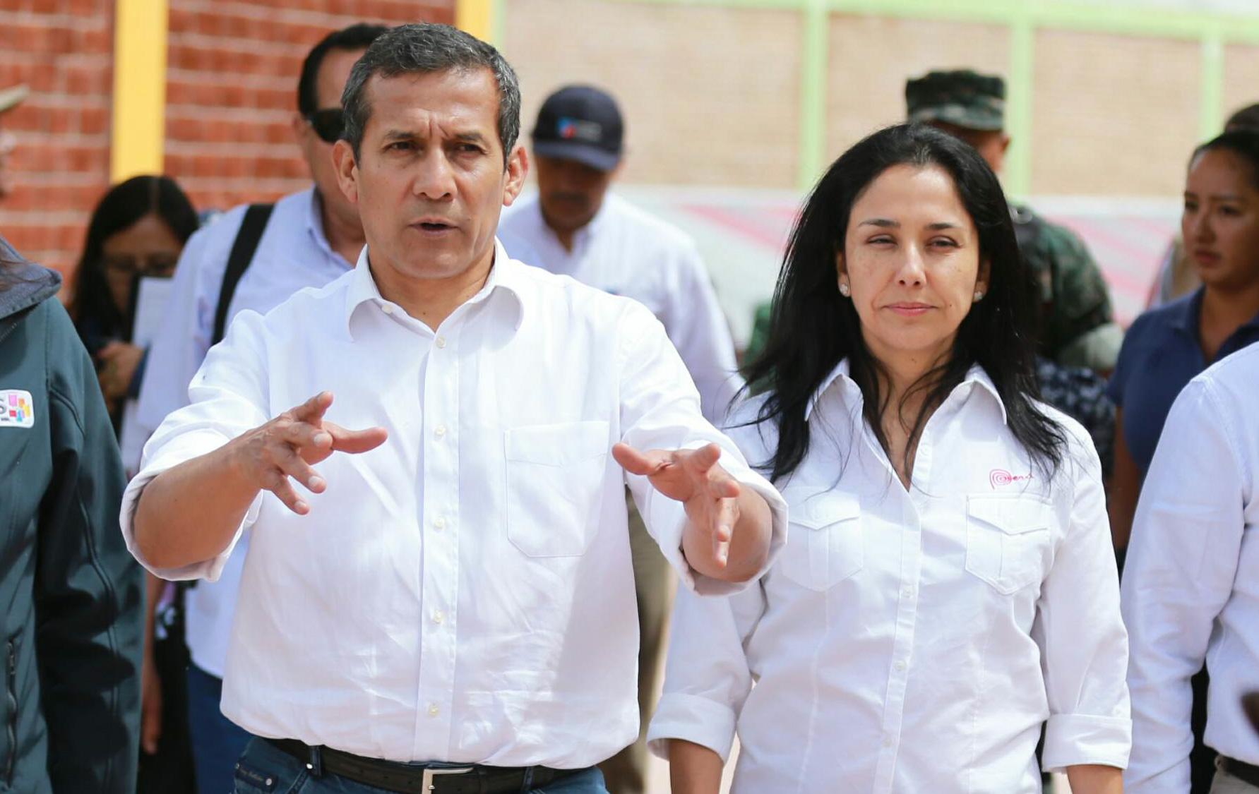 Trámite administrativo demora liberación de Ollanta Humala y Nadine Heredia