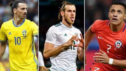 Fotos | Zlatan Ibrahimovic y los 10 futbolistas más caros que no estarán en Rusia 2018