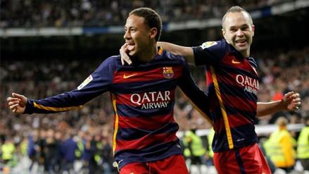 Neymar sobre Andrés Iniesta: