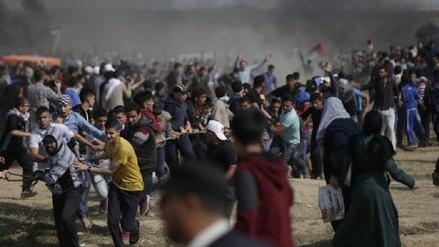Tres palestinos muertos y 300 heridos por ataque israelí en la frontera de Gaza