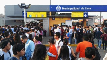 Guerra García: Es injustificable que los operadores busquen aumentar el pasaje del Metropolitano