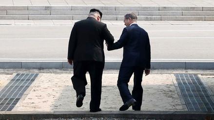 Bromas sobre misiles y otros gestos fuera de protocolo entre los líderes de las dos Coreas