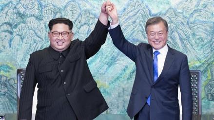 Galería   Las dos Coreas se comprometen con la desnuclearización en una histórica cumbre