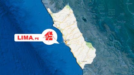 Un sismo de magnitud 3.7 sacudió Cañete esta noche