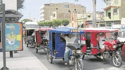 Mototaxistas rechazan nuevo cuadrante de circulación en Chiclayo
