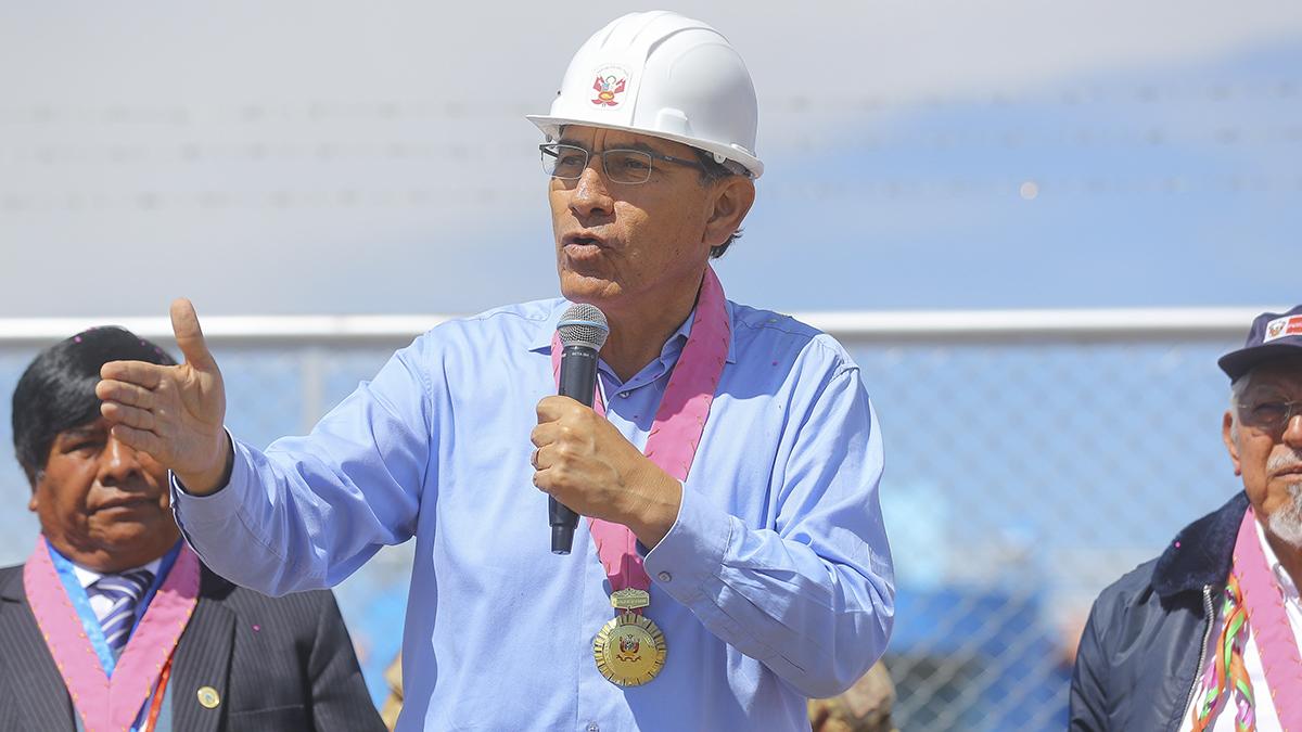Martín Vizcarra: Los proyectos mineros que promuevan el desarrollo van a tener mi respaldo