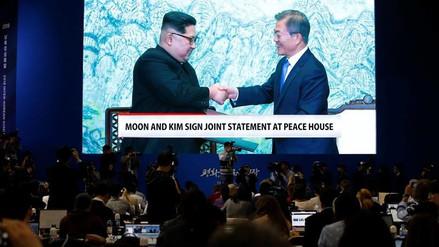La prensa oficial norcoreana respaldó el compromiso de desnuclearización