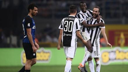 Un festival de goles en el triunfo de la Juventus sobre el Inter