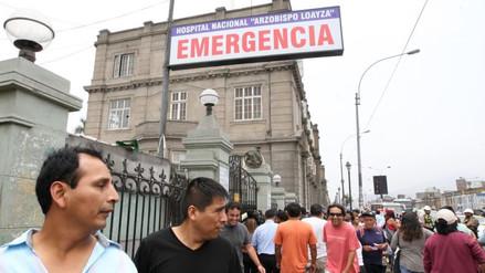 Hospital Loayza negó negligencia en caso de joven operado por fractura de clavícula