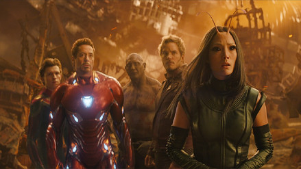 La ciencia no fue tan precisa en 'Avengers: Infinity War'